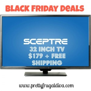 Black Friday Deal: 32 inch TV $179