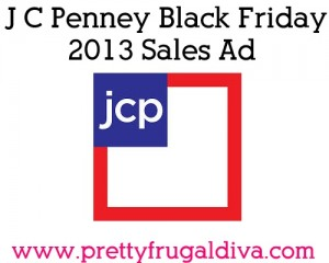 J C Penney Black Friday 2013 Sales Ad