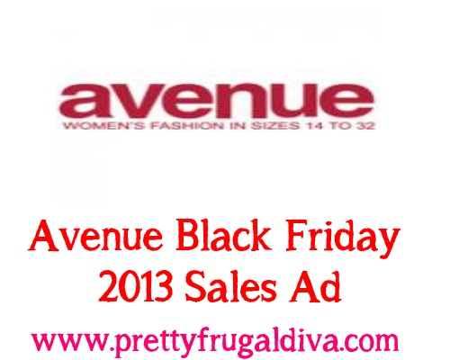 Avenue Black Friday Sale 2013 Sales Ad