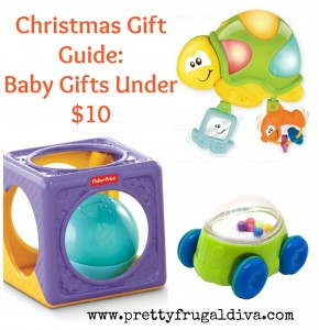 Holiday Gift Guide: Baby to 24 months under $10.00