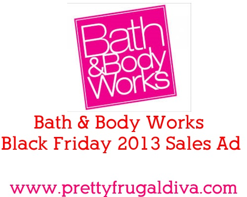 Bath and Body Works Black Friday 2013 Sales Ad