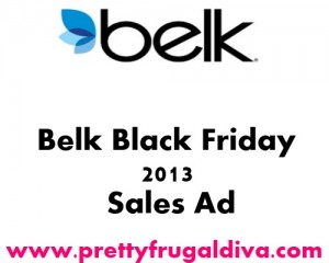 Belk Black Friday 2013 Sales Ad