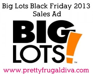 Big Lots Black Friday 2013 Sales Ad