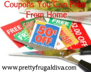 Printable Coupons For Week of 8/13/17