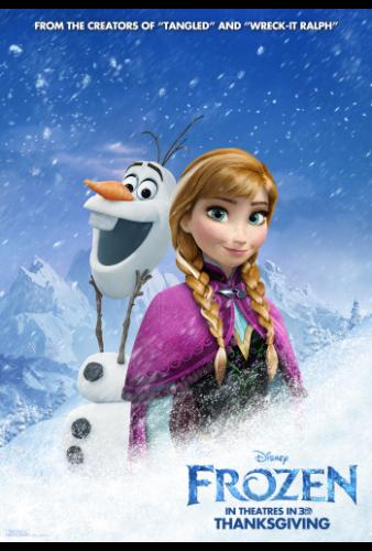 Disney's Frozen Opening Thanksgiving 2013