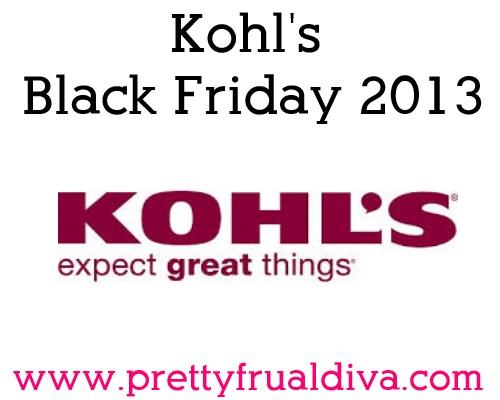 Kohls Black Friday 2013 Sales Ad