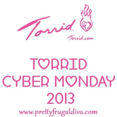 Torrid Cyber Monday 2013 Sale