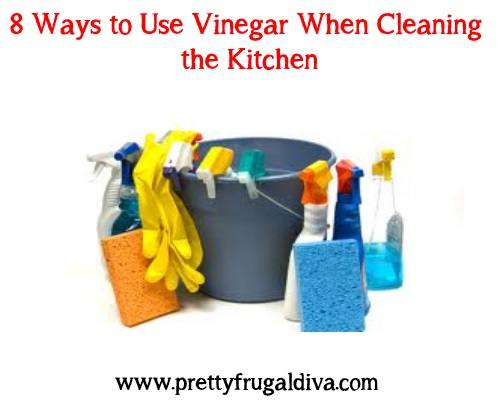 8 ways to use vinegar to clean the kitchen