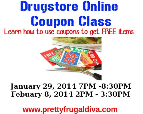Online Drugstore Coupon Savings Class
