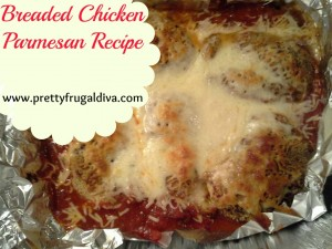 breaded chicken Parmesan recpe