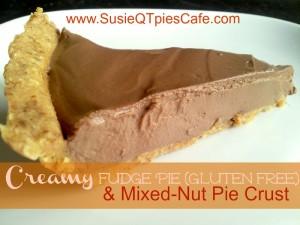creamy fudge pie gf