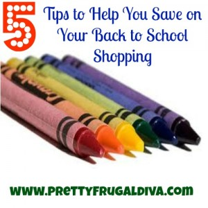 5 tips to help you save on back to school shopping