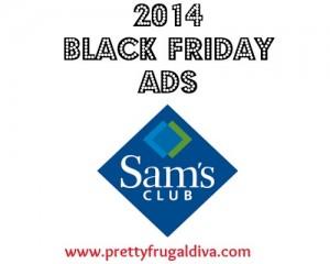 Sams Club 2014 Black Friday Sales Ad
