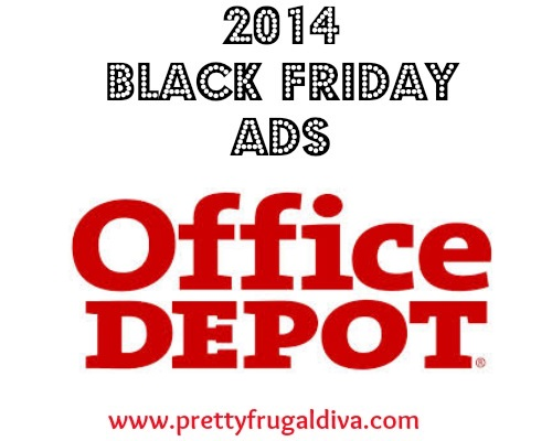 Office Depot / Office Max Black Friday 2014