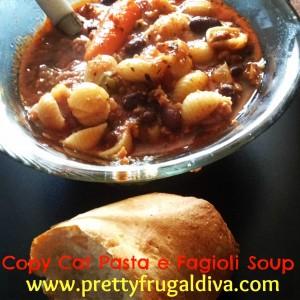 Copy Cat Recipe – Pasta de Fagioli Soup