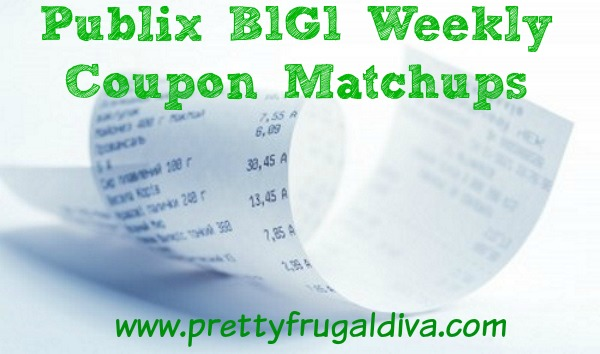 Publix Buy One, Get One Coupon Matchups