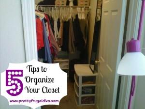 5 tips to organize your closet