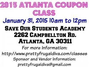2015 coupon class