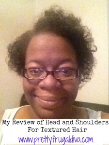 Sponsored Post: Head & Shoulders: Textured Hair Review