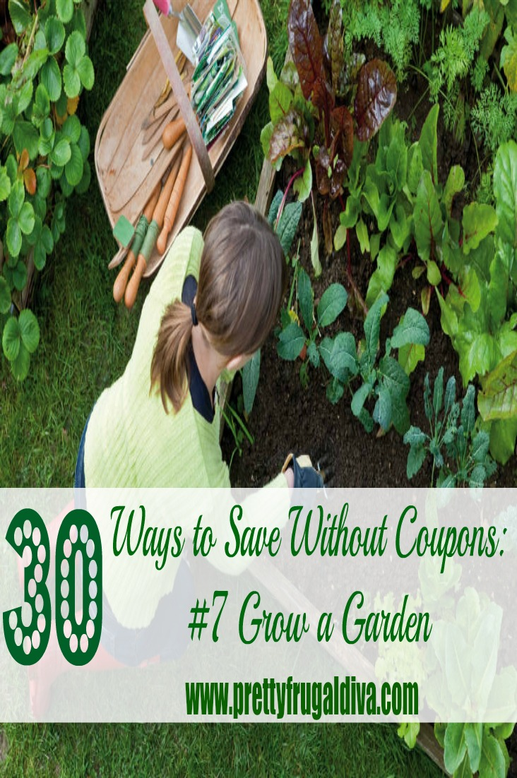 30 Ways to Save Without Coupons: Grow A Garden