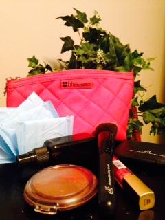 makeup bag and liners