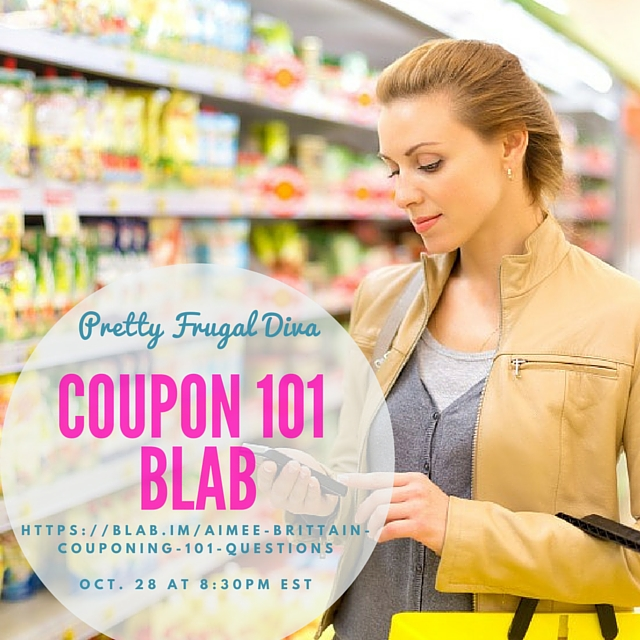 Pretty Frugal Diva Couponing 101 Blab
