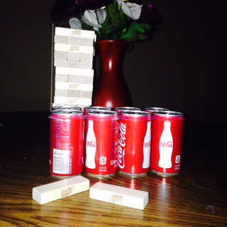 a little coke and family game night