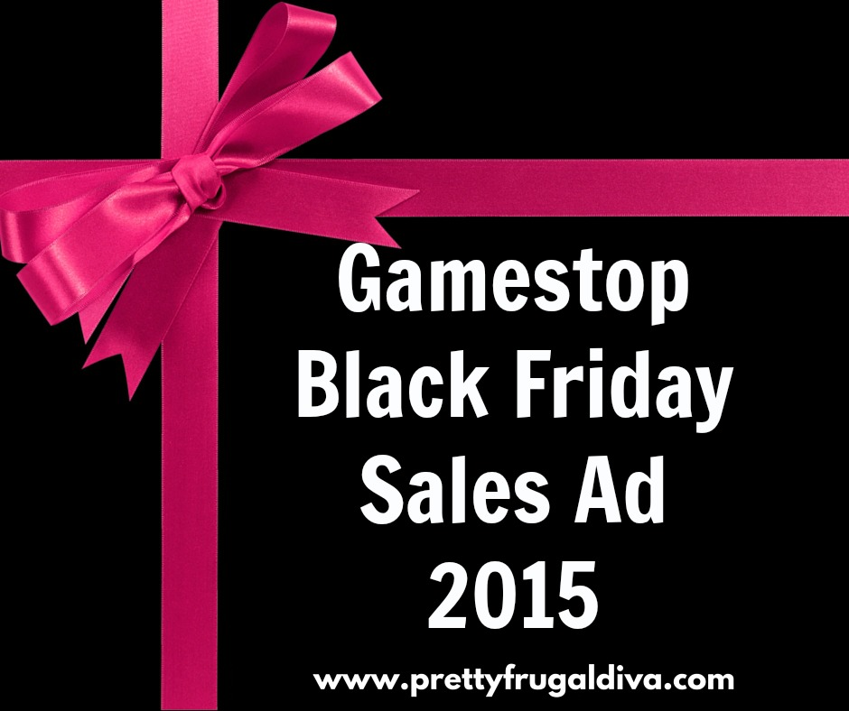 Gamestop black friday ad 2015 pretty frugal a