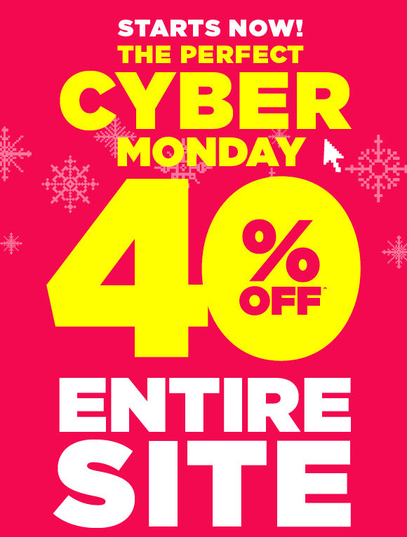 rue21 cyber monday 40 off