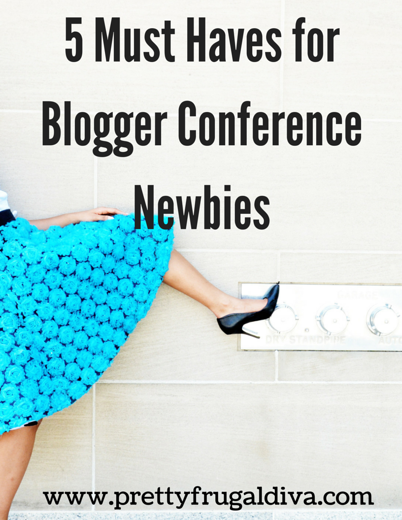 5 Conference Must haves for Bloggers