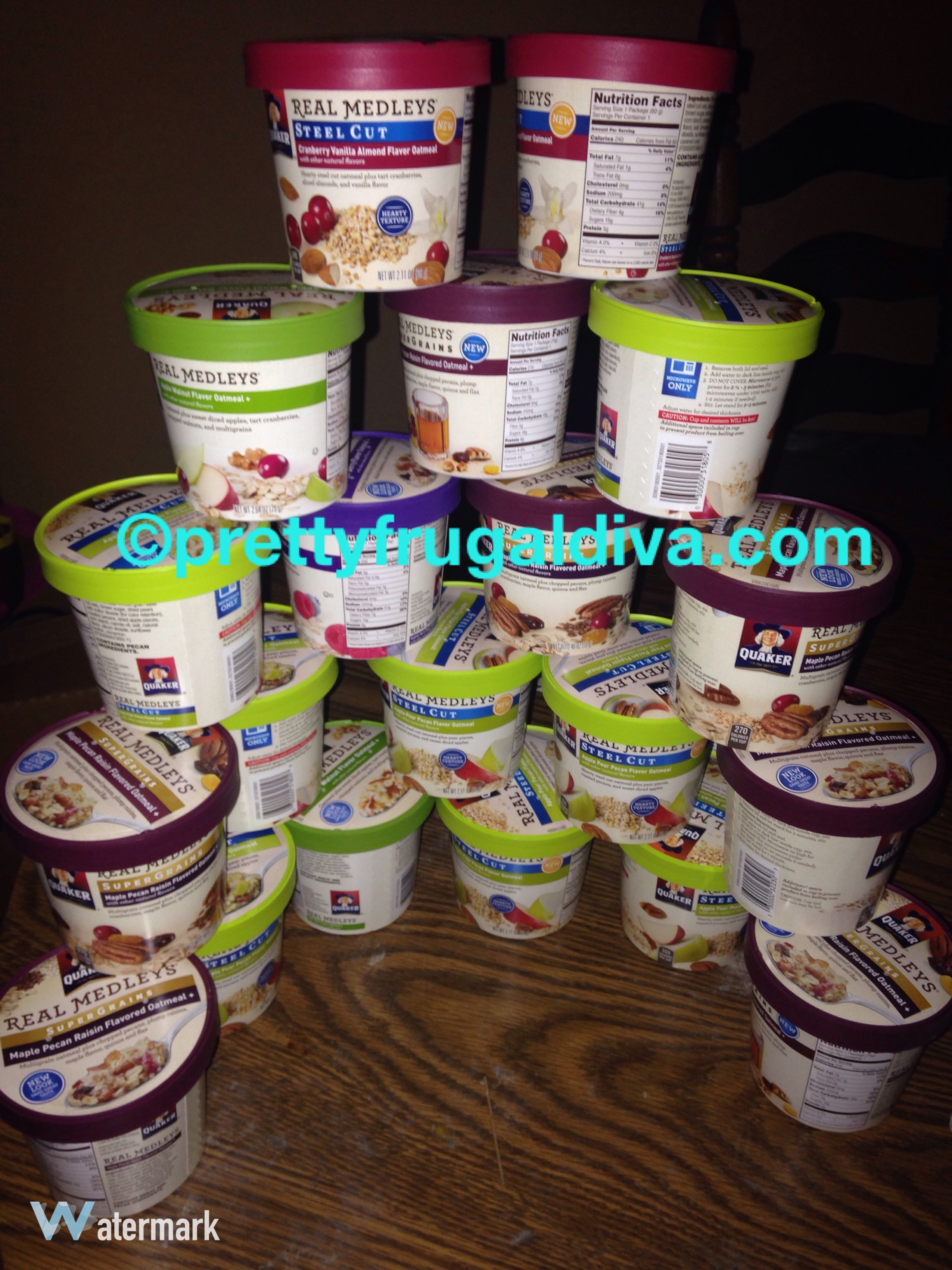 Kroger: Quaker Oats Real Medley Cups- MoneyMaker