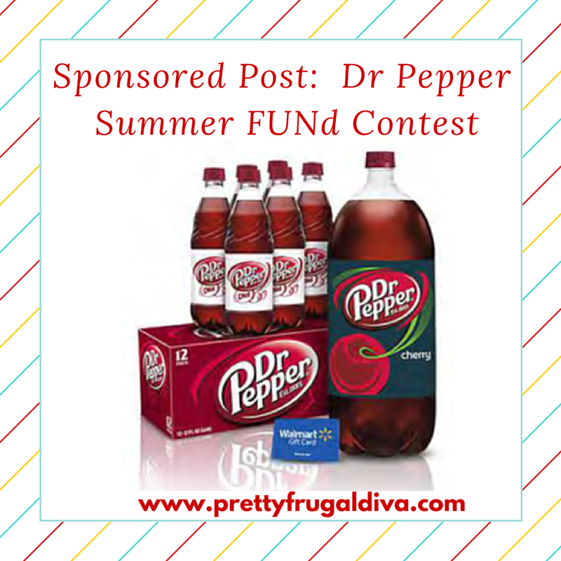 Sponsored Post: Dr Pepper Summer FUNd Contest