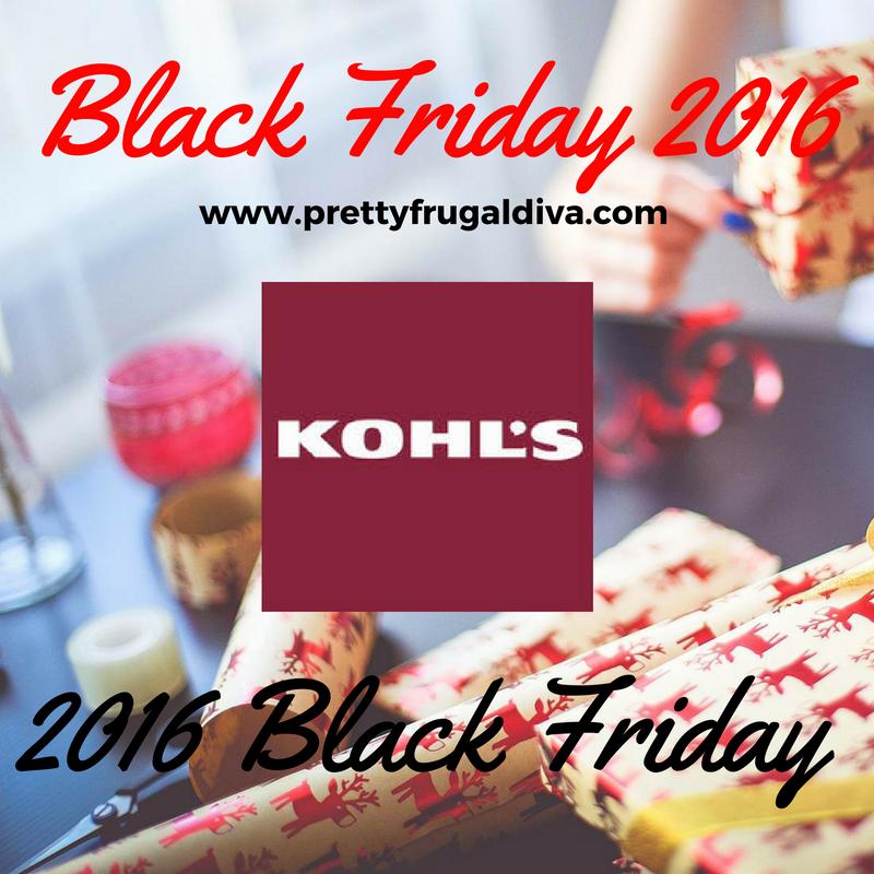 2016 Kohl's Black Friday Ad