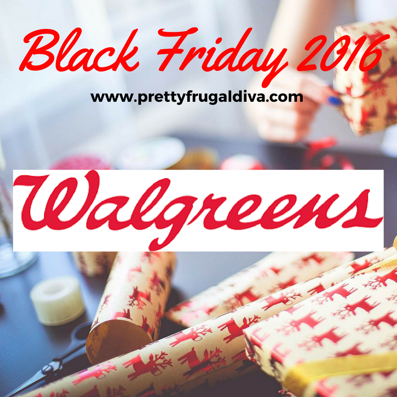 2016 Walgreens Black Friday Ad