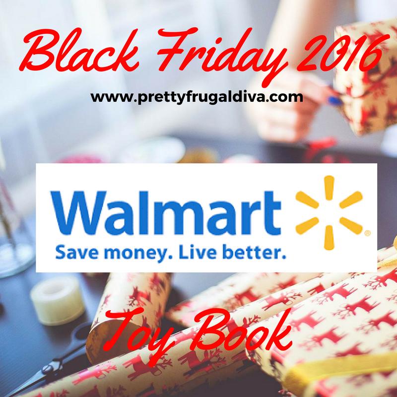 Walmart 2016 Toy Book