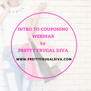 Intro to couponing Webinar