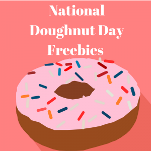 2017 National Doughnut Day Freebies