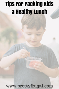 Tips for Packing A Healthy Kids Lunch