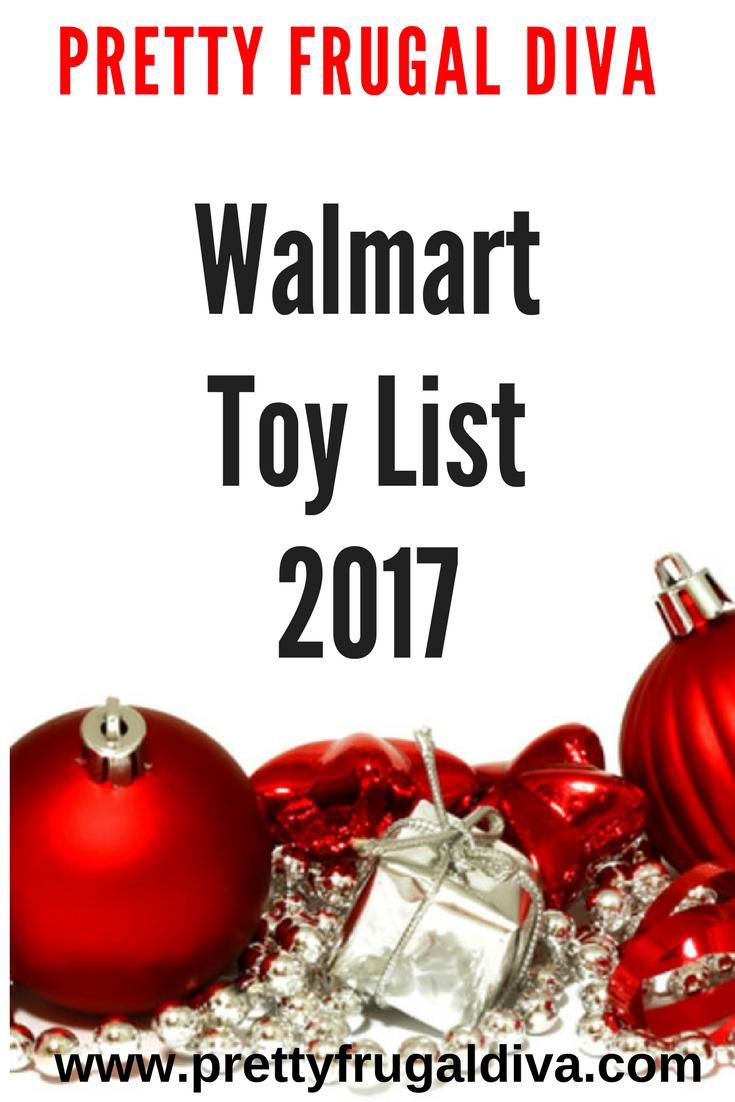 Walmart Toy List 2017 - Pretty Frugal Diva