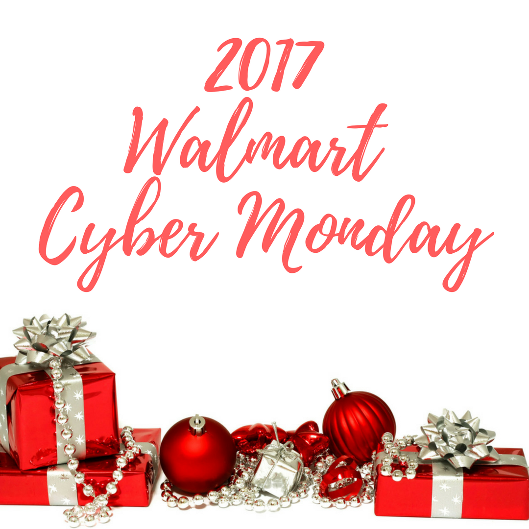 2017 Walmart Cyber Monday - Pretty Frugal Diva