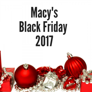 2017 Macy's Black Friday Sales Ad