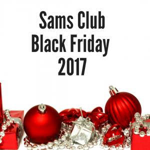 Sam's Club Black Friday Sales Ad 2017