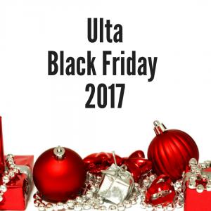2017 Ulta Black Friday Sales Ad