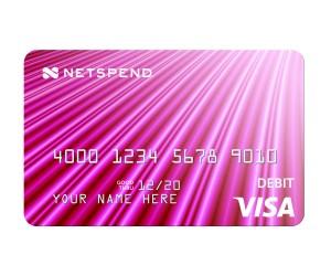netspend pink card