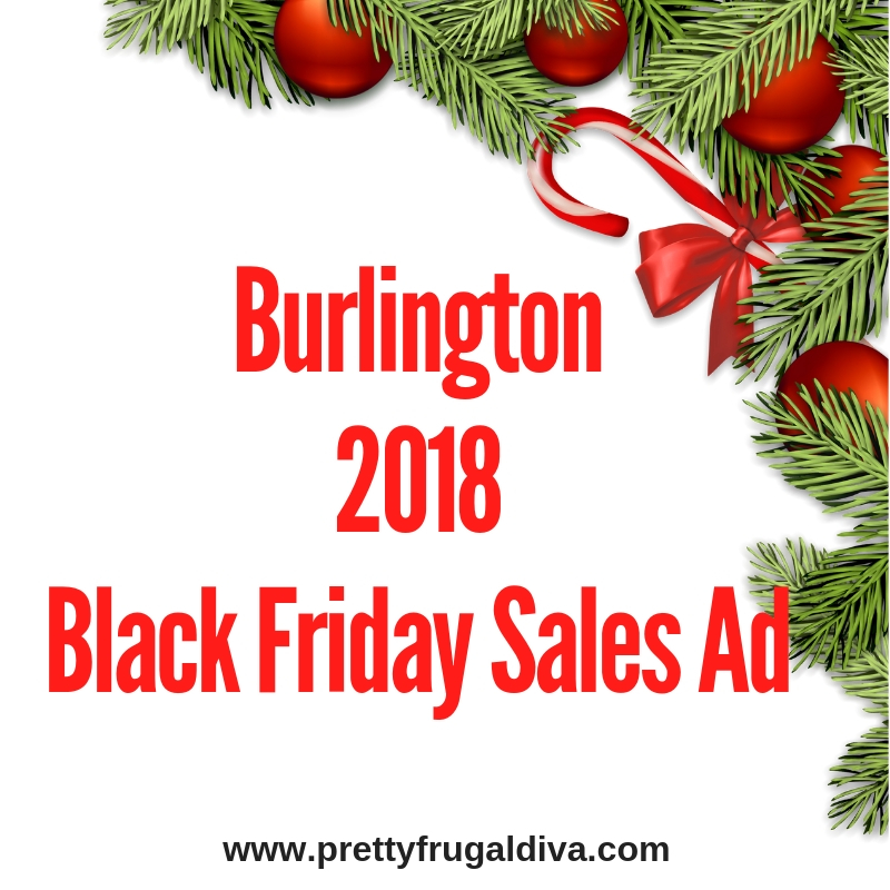 2018 Burlington Black Friday Sales Ad