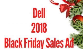 2018 Dell Black Friday Sales Ad