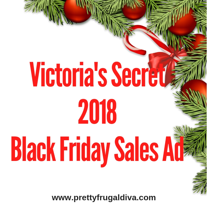 2018 Victoria's Secret Black Friday Sales Ad