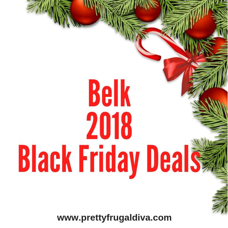 2018 Belk Black Friday Sales Ad
