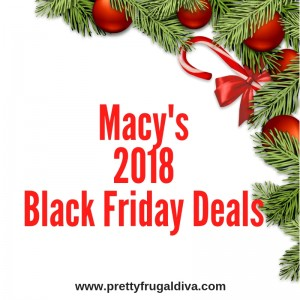 2018 Macy's Black Friday