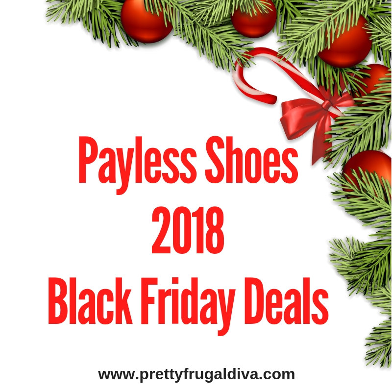 2018 Payless Shoes Source Black Friday Sales Ad